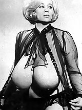 Busty Vintage, Old Fashioned Women