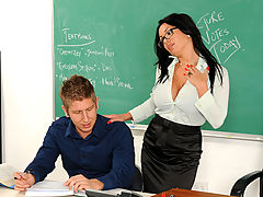 Bigtits Officesex, Sienna West & Danny Wylde as Sexy Teacher