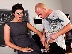 Charlie James & Jenner as Sexy Teacher