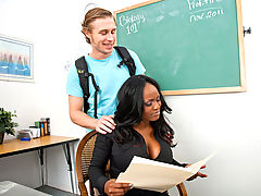 Office Vids: Jada Fire & Michael Vegas as Sexy Teacher
