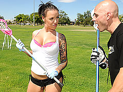 Hard Nipples, Brazzers Video Lacrosse Lacock