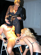 Kelly Madison Pics: Kelly and Kagney work out a plan to get exactly what they want to scare and fuck Ryan.