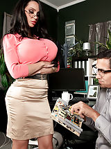 Busty Gallery, Amy Anderssen