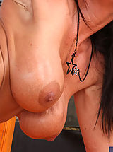 Naughty America, Hot blonde cougar Kristal Summers loves to suck and ride younger cock.