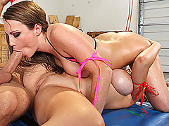 Bikini Vids: Brazzers Hardcore on the Mat