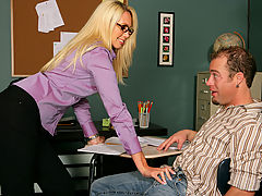 Busty Housewives, Debbie Dial as Sexy Teacher